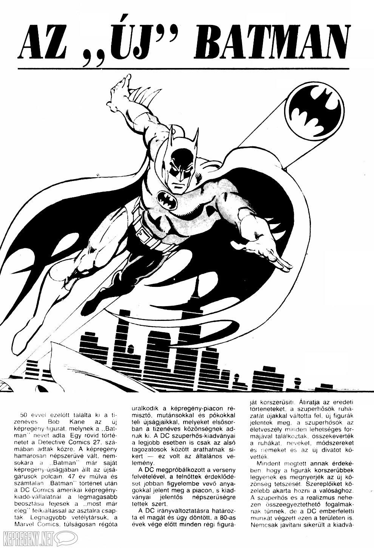 """Az """"ÚJ"""" Batman"""