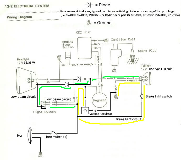 Admirable Kdx 175 Wiring Diagram Wiring Diagram Wiring Cloud Rectuggs Outletorg