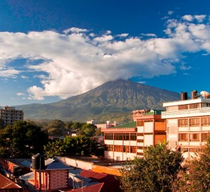 Arusha City Mt Meru View
