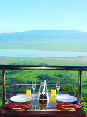 Ngorongoro Wildlife Lodge Crater View Breakfast