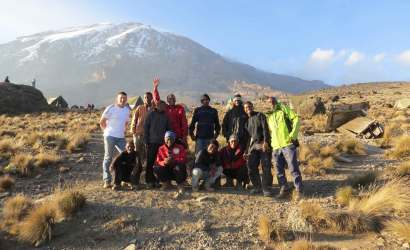 Kilimanjaro lemosho join group climb