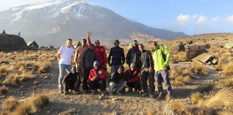 Kilimanjaro lemosho join group climb