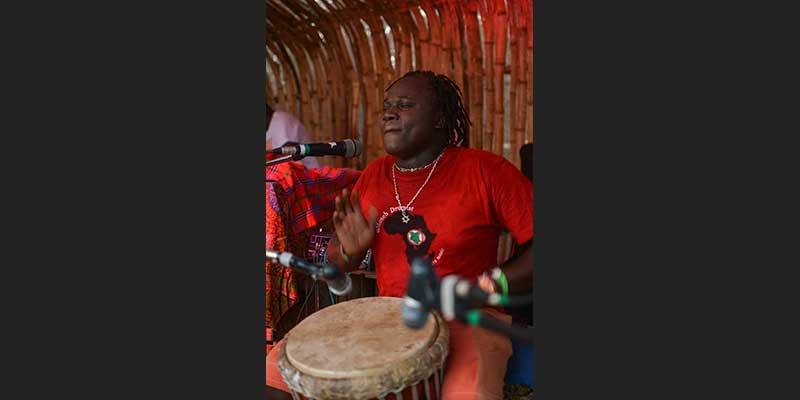 Moseh DrummistKilifi New Year 2017