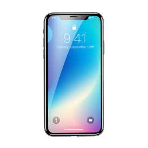 Apple iPhone XR 6.1 Baseus 0.3mm Rigid-Edge Curved-Screen Tempered Glass Screen Protector iPhone XR 6.1