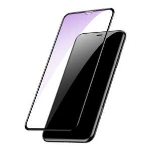 Apple iPhone XR 6.1 Baseus Full Coverage Tempered Glass With Anti Bluelight Function iPhone XR 6.1