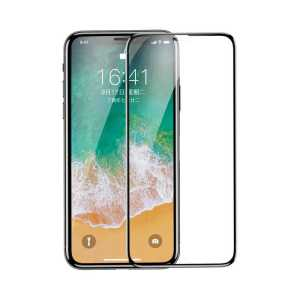 Apple iPhone X Baseus 0.23mm Drop-Proof Curved Full Screen Tempered Glass Film iPhone X
