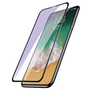 Apple iPhone X Baseus 0.2mm All-screen Arc-surface Anti-bluelight Tempered Glass iPhone X