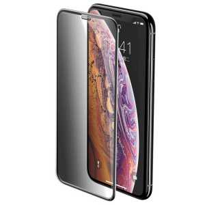 Apple iPhone XS 5.8 Baseus Full-Screen Curved Privacy Tempered Glass Screen Protector (Cellular Dust Prevention) iPhone XS 5.8