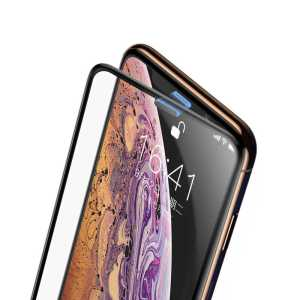 Apple iPhone XS Max 6.5 Baseus Full-Screen Curved Tempered Glass Screen Protector (Cellular Dust Prevention) iPhone XS Max 6.5