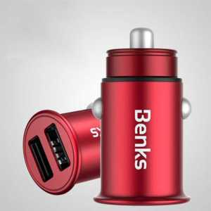 Benks C27 Dual Usb Car Charger 4.8A Şarj Aleti