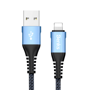 Benks D26 Lightning Usb Cable 0.25M Kablo