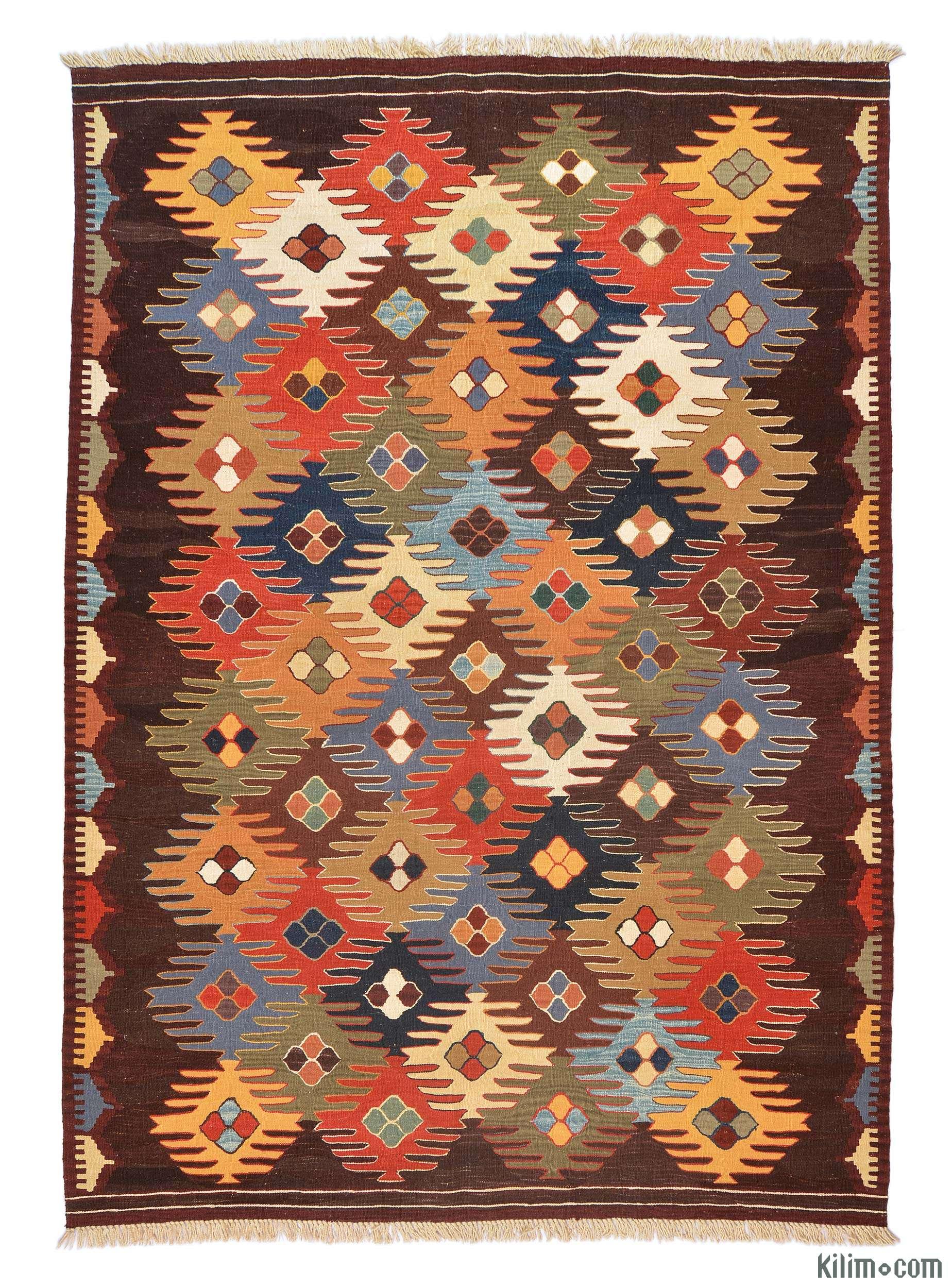 K0005789 Multicolor New Turkish Kilim Rug