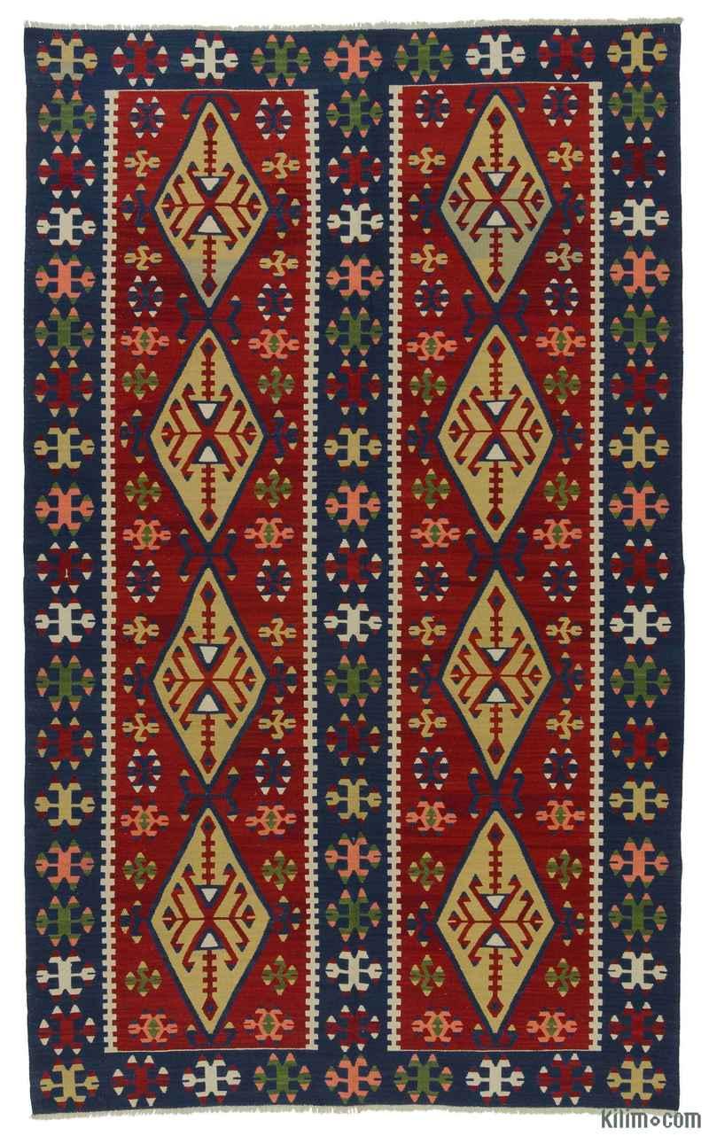 K0008914 Red New Konya Kilim Rug