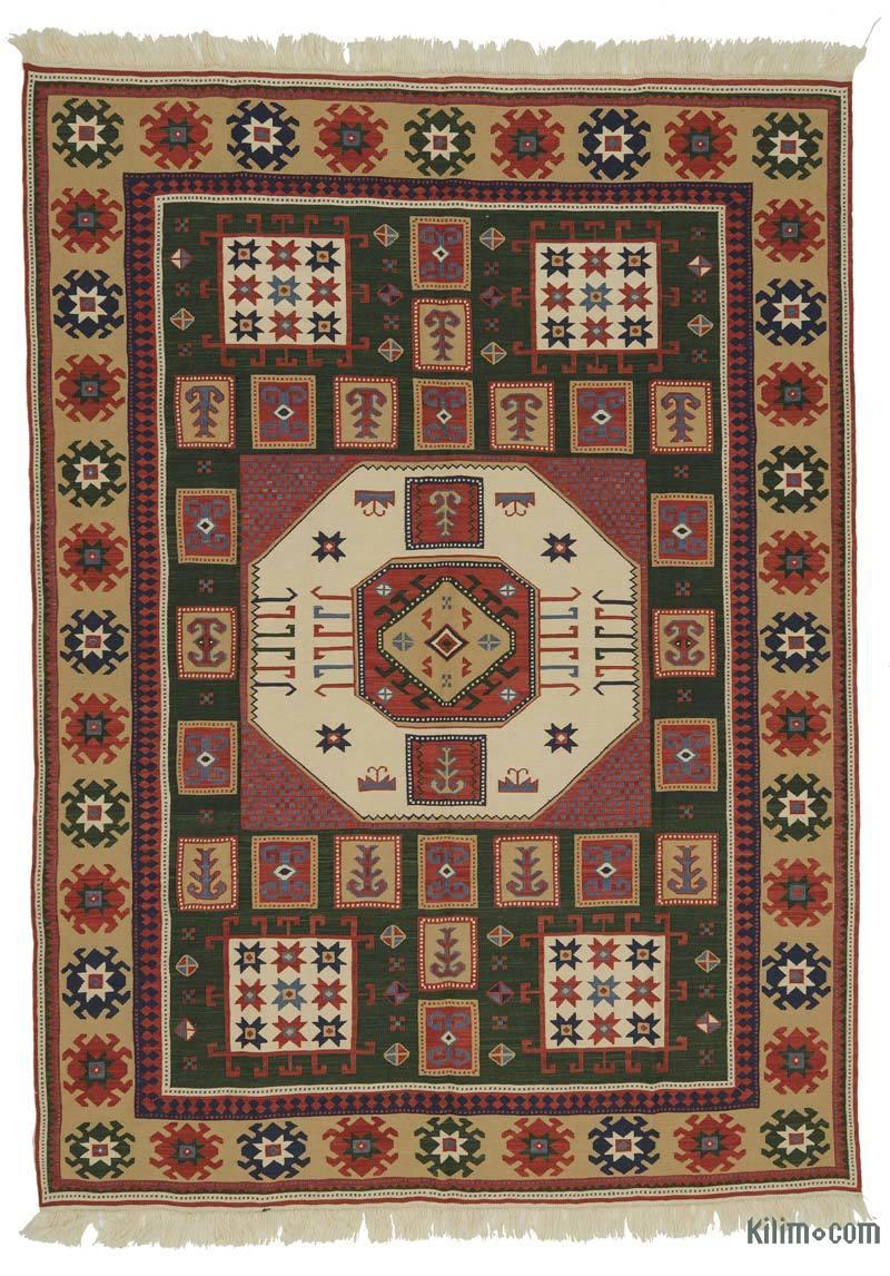 K0021052 Brown New Turkish Kilim Rug