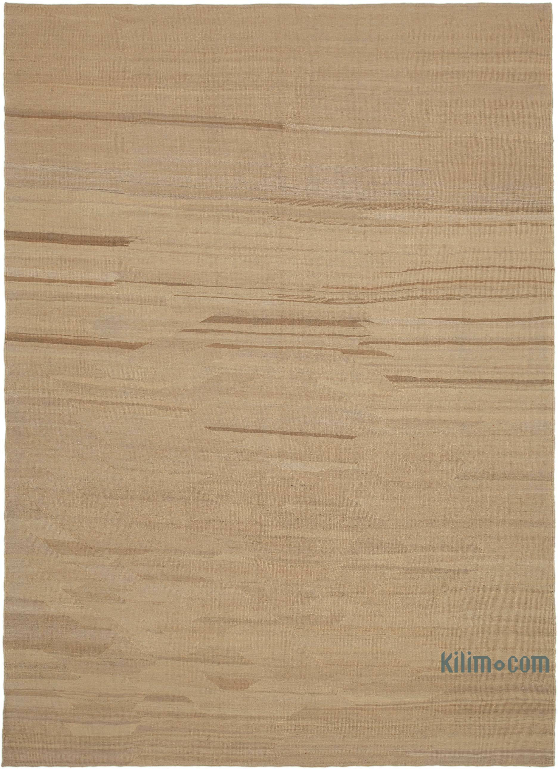 Beige New Contemporary Kilim Rug Z Collection 7 8 X 10 7 92 In X 127 In