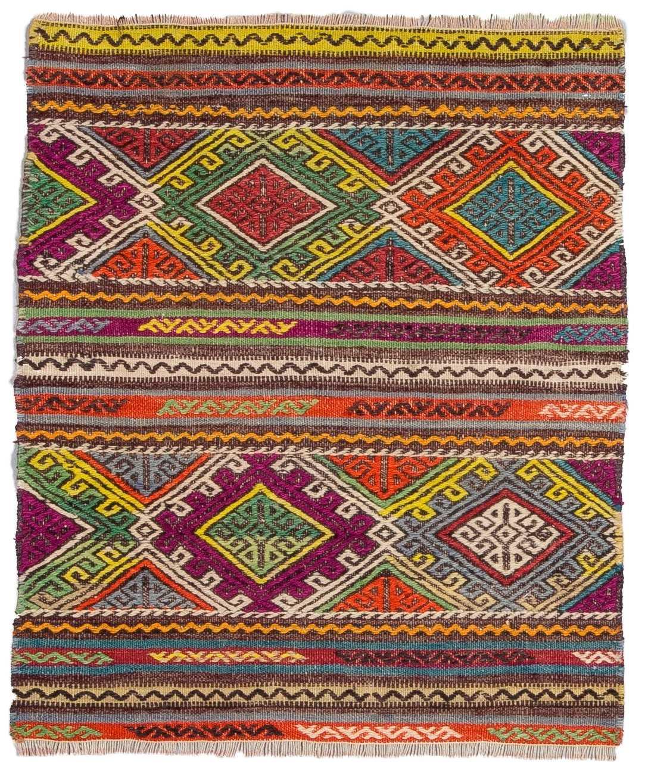 Vintage Balikesir Kilim Rug  0103