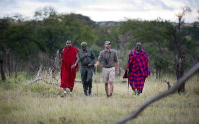 6 Days Tanzania Walking Safari and Culture Tours