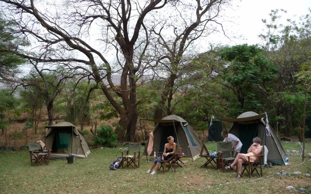 9 DAYS TANZANIA  ADVENTURE CAMPING SAFARI