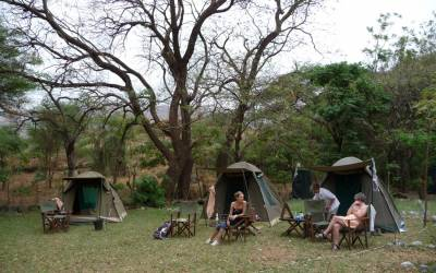 9 DAYS TANZANIA  ADVENTURE CAMPING SAFARI