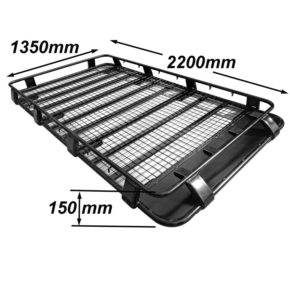 Alloy Roof Rack Land Rover Discovery Series I & II Gutter