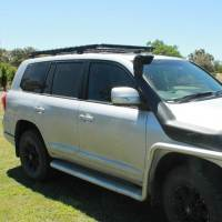 Low Profile Aluminium Roof Rack Toyota LandCruiser 200 ...