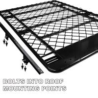 Low Profile Aluminium Roof Rack Toyota LandCruiser Prado ...