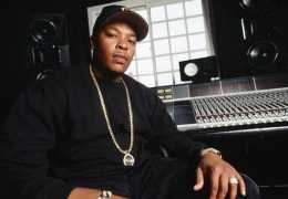 1994, Los Angeles, California, USA --- Rap artist Dr. Dre sits in front of recording equipment at his home in Los Angeles. --- Image by © Neal Preston/CORBIS