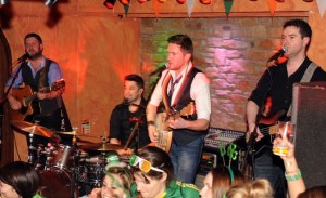 The Kilkennys performing at the Paddy's Day Party in The Killarney Grand on Tuesday . Picture: Eamonn Keogh (macmonagle.com)