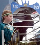 King Puck is dethroned in front of thousands of people in the square