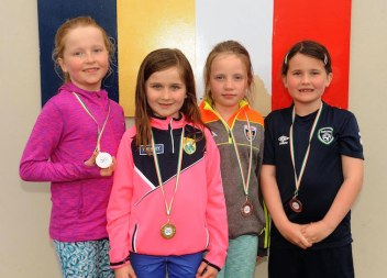 Sinead O'Leary, Molly Cronin, Reailtin O'Donoghue and Lauren McSweeney