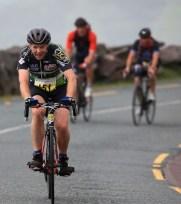 Pat O'Callaghan climbing the Conor Pass