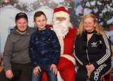 Denis, Billy and Sheila Breen with Santa Claus