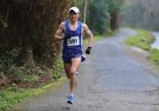 Alan O'Shea who won Hardman Ireland 10Km run in a blistering time