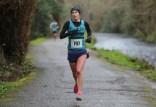 Winner alright: Jenny Rice winner of the women's 10km run