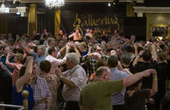 Round the house: set dancing in full flight