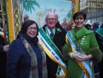 Mayor Foley and CEO Murrell with Kerry Association President Frank O'Keeffe