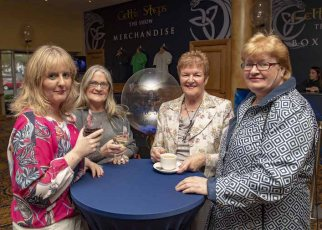 Michelle Kerins, Rose O'Callaghan, Helena McElligott and Geraldine Murphy