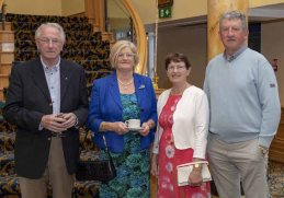 Eugene and Noreen O'Callaghan with Breda and Liam Hussey