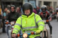 Dragging it out: A participant in the Ireland BikeFest street parade