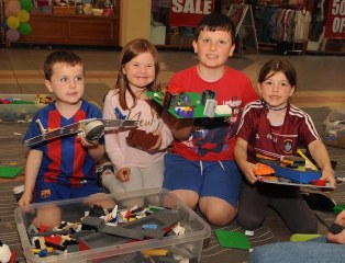 Taide O'Leary, Clodagh, Darragh and Roisn Lee at the Brickx Club