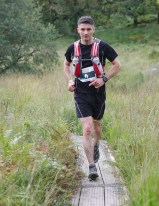 Harold Cliffton, Killarney, competing in the Kerry Way UltraLite
