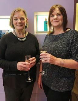Sisters Sheila Dickson and Treacy O'Shea