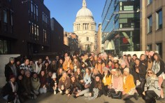 London calling for the St Brigid's students