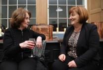 Mary Murphy (left) and Sheila Kingston enjoying a Victorian Christmas at Muckross House Killarney