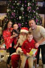Mary Devane, with Wesley Maher, Daniel and Ryan Maher, at the lighting of the Christmas tree and visit of Santa Claus at the Brehon Hotel in aid of St Vincent De Paul Christmas charity appeal.Photo:Valerie O'Sullivan/FREE PIC