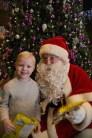 Casey Heenan met Santa