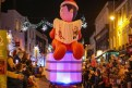 Colour: Fun floats paraded through the town