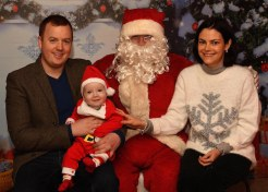 Louise and Eoin O'Donoghue with baby Daniel