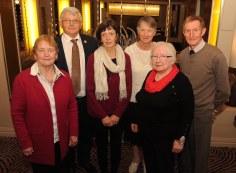Ina Horgan, Tom Roche, Anne Nash, Maureen O'Donoghue, Mary B Cronin and Carl Nash