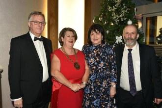 Tim Fenn, Chief Executive, IHF, Bernadette Randles, Chairperson, Eileen and Deputy Danny Healy-Rae